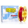 123-3D Filament flexibel rood 2,85 mm TPE 0,5 kg (Jupiter serie)  DFF08008