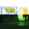 123-3D Filament glow in the dark groen 2,85 mm PLA 1 kg Jupiter serie (123-3D huismerk)  DFP11053