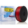 Filament rood 2,85 mm ABS 1 kg Apollo serie (123-3D huismerk)