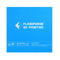 Flashforge Finder Hechtplatform sticker 60999420001 DRO00022