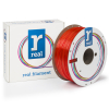 REAL filament oranje transparant 1,75 mm PETG 1 kg  DFE02024
