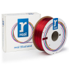REAL filament rood transparant 1,75 mm PETG 1 kg