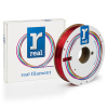 REAL filament transparant rood 1,75 mm PETG 0,5 kg  DFE02037